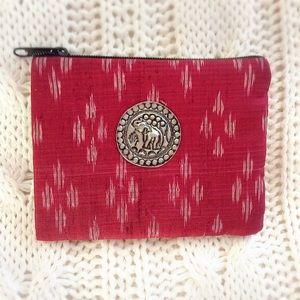 Handbags - 🐘 BOHO Thai Silk Small Coin Bag 🐘